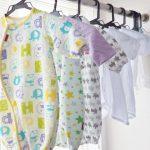 新生児の服装と3か月間で必要な枚数【春夏秋冬・生まれた月別】