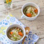 【今夜の一品】鶏ひき肉の野菜スープ