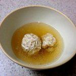 【今夜の一品】鶏団子スープ