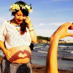 「妊娠37週」の母親と赤ちゃんの様子