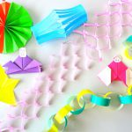 折り紙で手作り七夕飾り―2~4歳児でも作れる7つの飾り!―