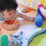 赤ちゃんはいつからおもちゃで遊べる?【月齢別おもちゃ一覧】