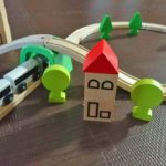 IKEAの列車レールセット「LILLABO」を5か月使ったので感想を書きました。