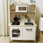 イケアの「おままごとキッチン」を3か月使ったので感想を書きました。