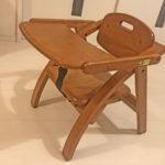 大和屋の「木製ローチェア」を10か月使ったので感想を書きました。