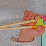 アンパンマンの「持ち方覚え箸」を8か月使用したので感想を書きました。