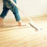 【育児の時短ワザ】フローリングワイパーで床掃除